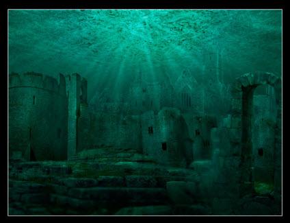 Древние города под морской пучиной