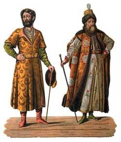 Внешний образ в древней Руси
