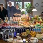 Фоторепортаж о том, кто и сколько тратит на продукты питания в мире