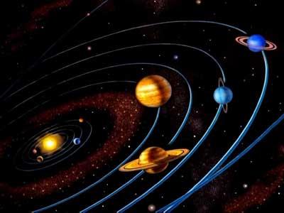 Символы Земель, Солнца, Лун и ихъ значения.