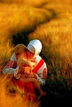 Следование ребёнка за мамой