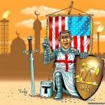В ливийской пустыне цивилизация отбивается от варваров