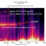 HAARP: данные магнитометрии показывают, что землетрясение в Японии было индуцировано