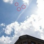 НЛО в небе над Лондоном
