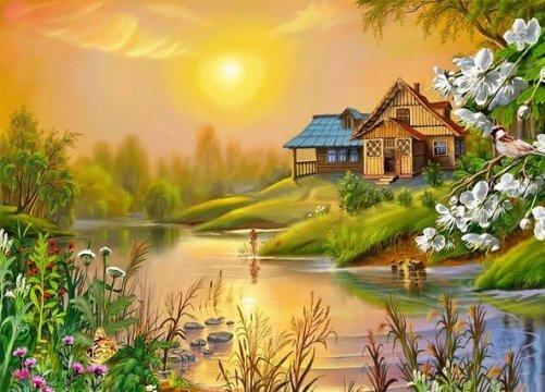 Выбираем место для жизни в деревне