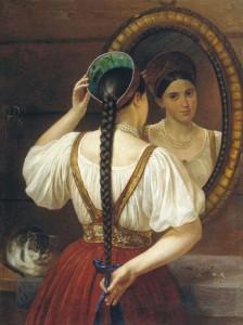 Ритуал плетения женской косы