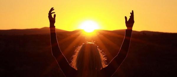 Солнечный ритуал на бодрость