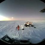 Секретная съёмка Нибиру с Южного Полюса