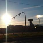 Необычное явление двух солнц в небе Приморского края
