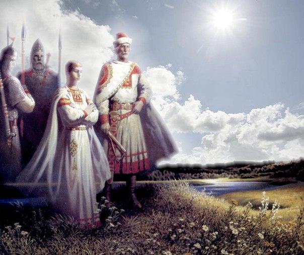 Уклад жизни у древних западных славян.