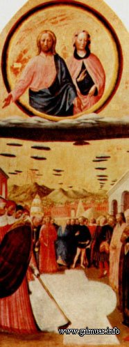 The Miracle of the Snow - Картина Masolino Da Panicale (1383-1440)