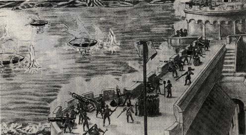 Гравюра 1608 года