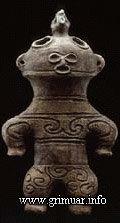 Статуэтка Догу. Япония, период с 13 000 года до н. э по 300 до н. э.