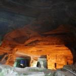 Древние гроты, созданные горнопроходческими комбайнами