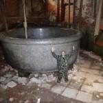 Гигантская гранитная ванна под Санкт-Петербургом