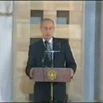Путин в синагоге и Гусский Путин спасает жидовский народ
