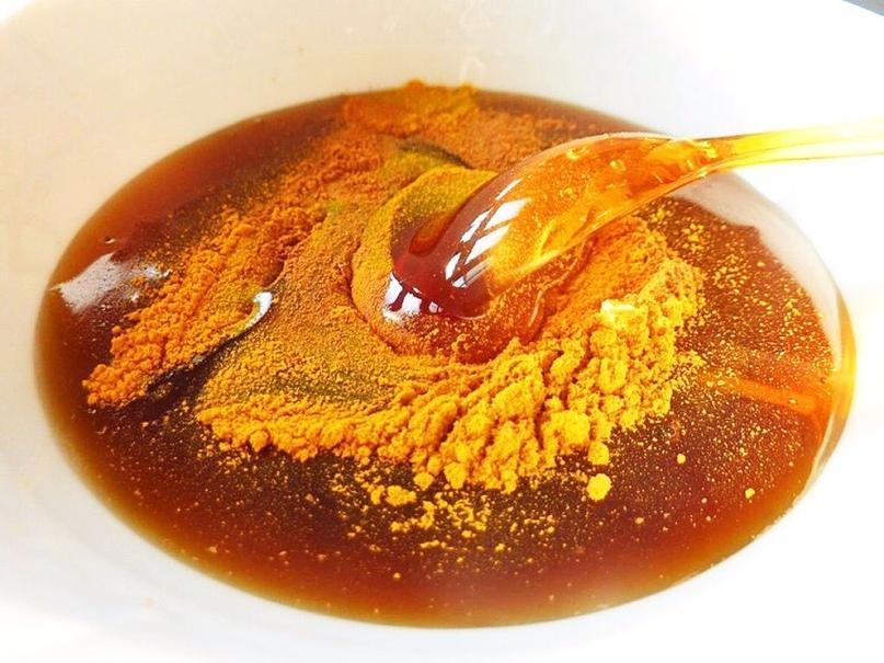 Натуральный антибиотик - Мед и Куркума